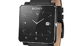 Die Smartwatch sieht im Uhrenmodus aus wie eine ganz normale Uhr.