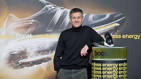 Adidas-Chef Hainer hat zur Zeit einen schweren Stand.