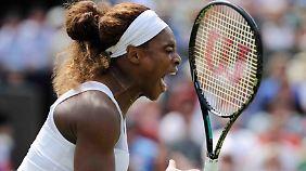 Serena Williams ist weiter.