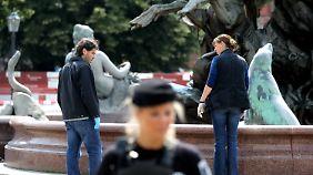 Tödlicher Zwischenfall am Alex: Polizist erschießt Nackten am Neptunbrunnen