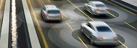 Mithilfe der Positionsdaten aller Verkehrsteilnehmer können im Katastrophenfall Menschenleben gerettet werden.