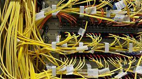 Datenserver deutscher Unternehmen sind täglich Angriffen aus dem Ausland ausgesetzt.