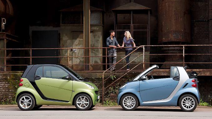 Neue Farben, weniger Verbrauch: Daimler überarbeitet den Smart
