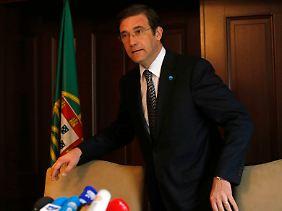 Kann Pedro Passos Coelho seine Regierung retten?