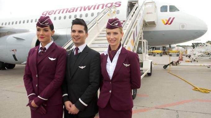 Flugbegleiter der Germanwings bekommen mehr Geld.