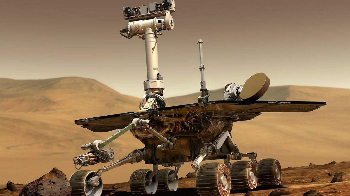 """""""Opportunity"""" seit 5000 Marstagen unterwegs"""