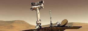 """Roboter-Oldie auf Rotem Planeten: """"Opportunity"""" seit 5000 Marstagen unterwegs"""