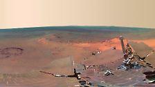 """""""Opportunity"""" seit zehn Jahren auf Mission: Roboter-Oldie rollt über den Mars"""