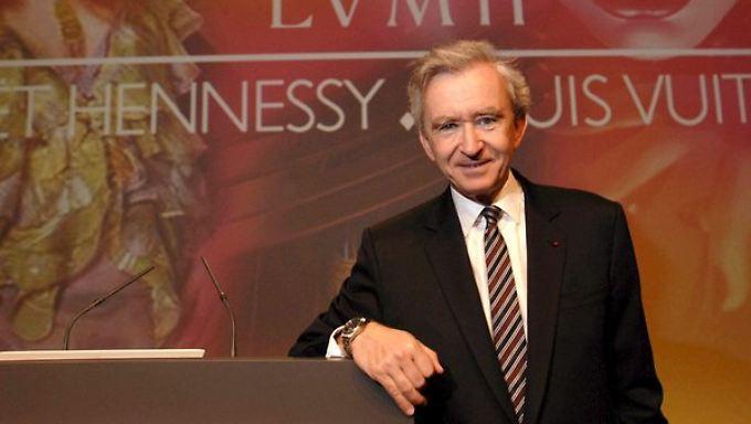 LMVH-Chef Bernard Arnault war wieder mal in Italien shoppen.