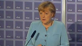 NSA-Affäre belastet Verhandlungen: Merkel verteidigt Freihandelsgespräche