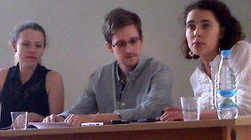 Audiomitschnitt veröffentlicht: Snowden meldet sich zu Wort und bittet um Hilfe