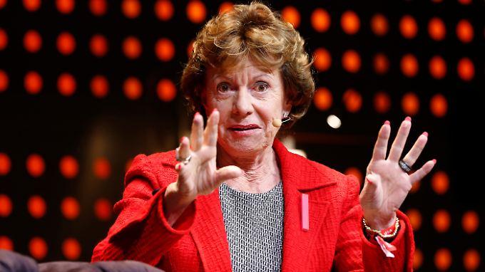 EU-Wettbewerbskommissarin Neelie Kroes will Internetanbietern erlauben, Daten bevorzugt zu übertragen.