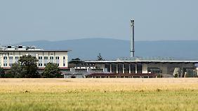 Armeegebäude in Wiesbaden: Deutsche Gesetze gelten hier nicht.