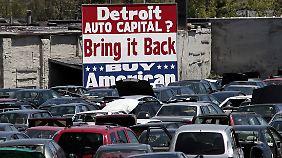 """""""Die Stadt ist ein Drecksloch"""": Autometropole Detroit ist bankrott"""