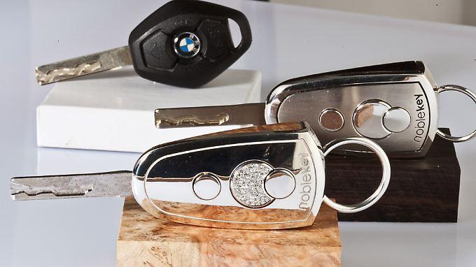Luxusschlüssel für den Luxusschlitten: Die Noblekeys sind richtige Schmuckstücke.