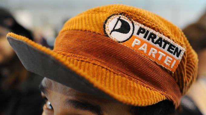 """Haben die """"sonstigen Parteien"""" wieder verlassen - die Piraten."""