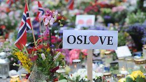 Jahrestag des Utøya-Massakers: Norweger gedenken der Terroropfer
