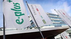 E-Plus-Zentrale in Düsseldorf.