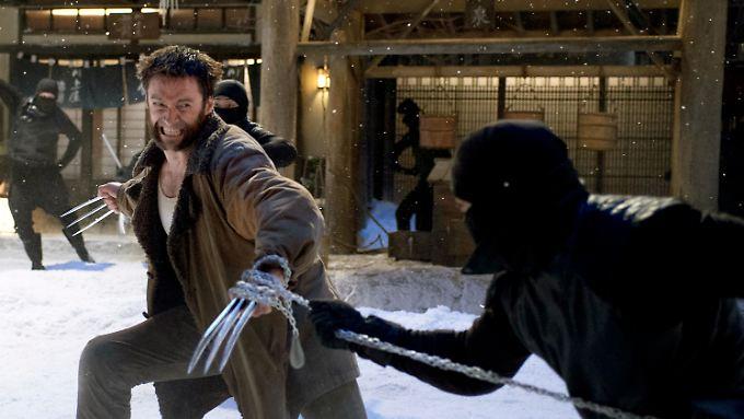 In Japan muss Wolverine gegen Samurais und Ninja-Krieger kämpfen.