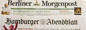 Rückzug aus dem Print-Geschäft: Springer versilbert Regionalzeitungen