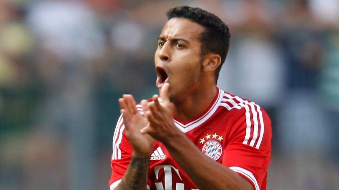 Beim FC Bayern fühlt sich Thiago nach kurzer Zeit schon pudelwohl - in Barcelona fehlte es ihm an Wertschätzung.