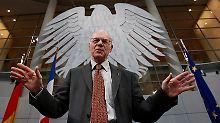 Bei den Bundestagsabgeordneten vor allem wegen seines Humors beliebt: Norbert Lammert.