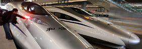 China will mit Investitionen in seine Bahnstrecken die Konjunktur beleben.