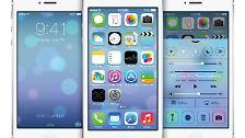 Update für iPhone, iPad und iPod touch: Das hat das neue iOS 7 zu bieten