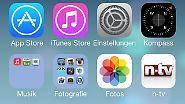 Apple verteilt Update für iPhone, iPad und iPod touch: Das ist neu in iOS 7