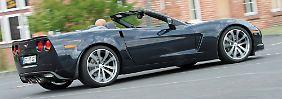 Die Corvette vor dem Modellwechsel: Finales Bollern aus 427 Kubik-Inch