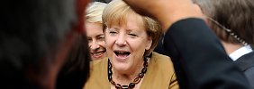 """""""Wahl ist alles, nur nicht gelaufen"""": Merkel mahnt ihre Mannen"""