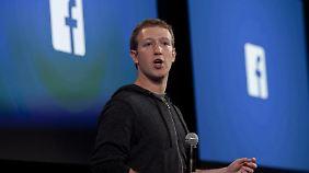Vor zehn Jahren gründete Mark Zuckerberg das Soziale Netzwerk Facebook.
