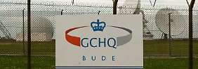 Der GCHQ-Außenposten in Bude, wo das transatlantische Glasfaserkabel Cornwall erreicht.