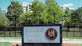 Das NSA-Hauptquartier in Fort Meade in Maryland.