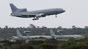 Die Royal Airforce ist bereits auf Zypern stationiert, also in der Region rund um Syrien.