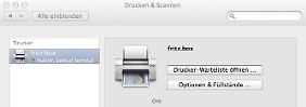Wenn der Mac Probleme mit der Fritzbox hat: So kommt der Drucker ins Netzwerk