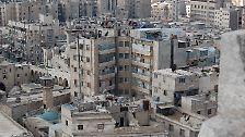 Die Altstadt rund um die Zitadelle ist dicht bebaut. Doch seit dem Konflikt hat sich das Gebiet gewandelt.