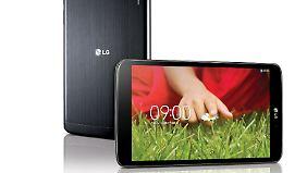 Das LG G Pad tritt gegen Apples iPad mini an.