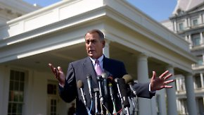 Angriff auf Syrien: Boehner schlägt sich auf Obamas Seite