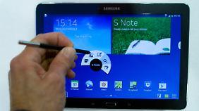 Das kommende Galaxy Note 10.1 bietet die gleichen Funktionen wie das Galaxy Note 3.