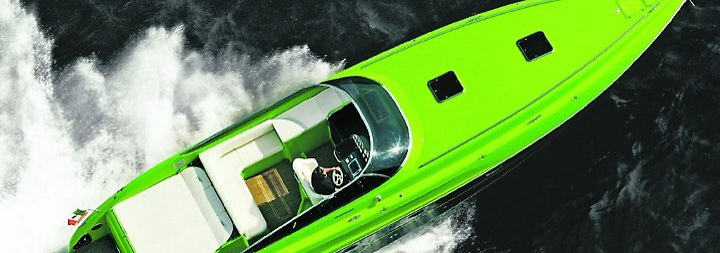 Im Rausch der Geschwindigkeit: Mit dem Flash Lime übers Wasser ...