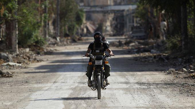Die islamistische al-Nusra-Front in Syrien arbeitet eng mit Al-Kaida zusammen.