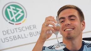 WM-Qualifikation gegen Österreich: Philipp Lahm freut sich auf sein 100. Länderspiel