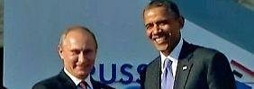 """""""Jeder ist bei seiner Meinung geblieben"""": Obama und Putin treffen sich doch noch"""