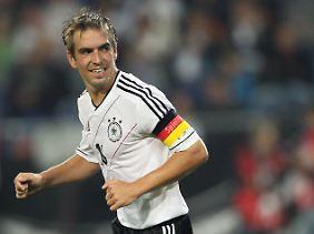 Philipp Lahm ist nun im Klub der Hunderter.