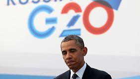 Syrien-Lösung in weiter Ferne: G20 bleiben gespalten