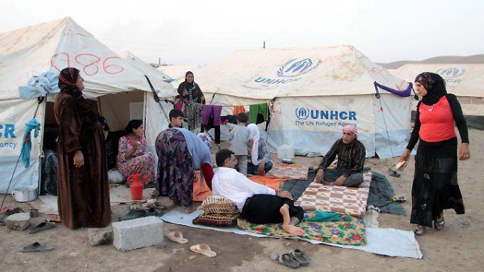 Viele Flüchtlinge sind bereits in Camps der syrischen Nachbarstaaten untergebracht. Jetzt ist Europa an der Reihe.