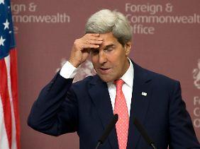 Kerry hat sich etwas unklar ausgedrückt.