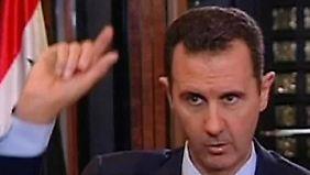 Nur ein geschickter Schachzug?: Assad erklärt sich mit Giftgas-Kontrolle einverstanden