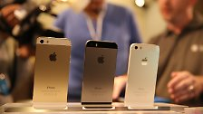Bunte 5C, goldenes 5S: Das sind die neuen iPhones